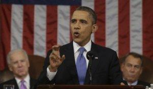 """""""Ahora mismo, líderes de los sectores empresariales, sindicales, de cumplimiento del orden público y de comunidades religiosas convienen en que ha llegado la hora de aprobar una reforma migratoria integral"""", dijo Barack Obama ante el Congreso."""