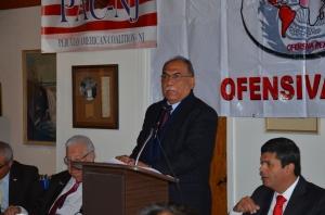 Congresista peruano Rogelio Canches.