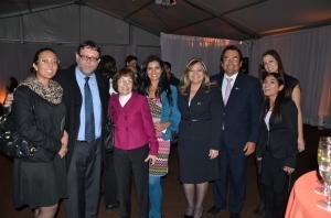 Perú Agribusiness Assocation compartió con el Director de Promoción Comercial de Promperu, Luis Torres Paz, y el Consejero Económico Comercial de NY, Conrado Falco.