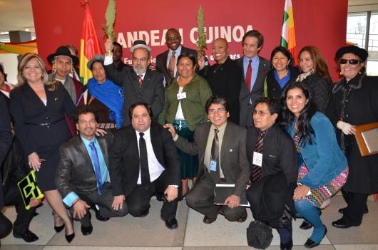 Perú Agribusiness Association se reunió en las Naciones Unidas con el Director General de la FAO, Graziano Da Silva, y los productores peruanos de Quinua.
