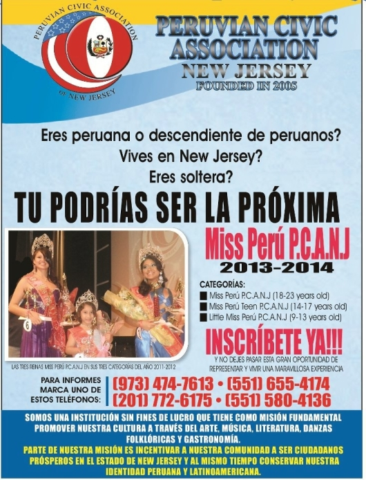 FLYER MISS PERU PCANJ 2013 2014