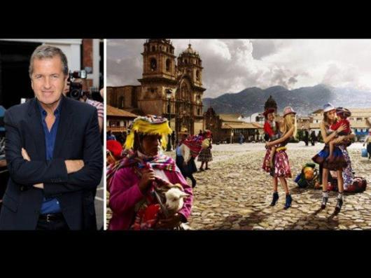 Mario Testino y su obra que se exhibirá hasta septiembre en Lima, con paisajes inéditos y una muestra de trajes típicos de la zona sur del Cusco.