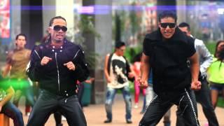 El grupo LA FABRI-K en plena acción con su FESTTRONI-K, producción de Víctor Arturo Barrientos.