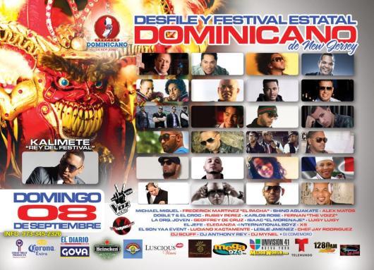 AVISO DEL DESFILE DOMINICANO 2013