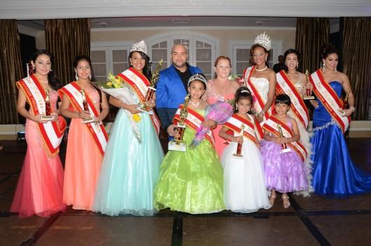 Las reinas de Peruvian Parade fueron elegidas recientemente durante un emotivo certamen de belleza y talento realizado en el Fiesta Banquets de Nueva Jersey. FOTO: SAID CHAVARRY RUSSO / PAPARAZZI DE NEW JERSEY