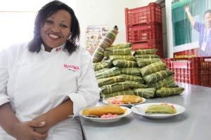 Magali Silva Cordero, ganadora del Ají de Plata otorgado por la Feria Mistura a sus famosos tamales, será una de las participantes de la Feria Gastronómica UNICA el 18 de septiembre en el Meadowlands de Secaucus, Nueva Jersey.
