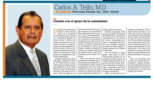102414 EL AWARDS CARLOS A. TELLO CROP