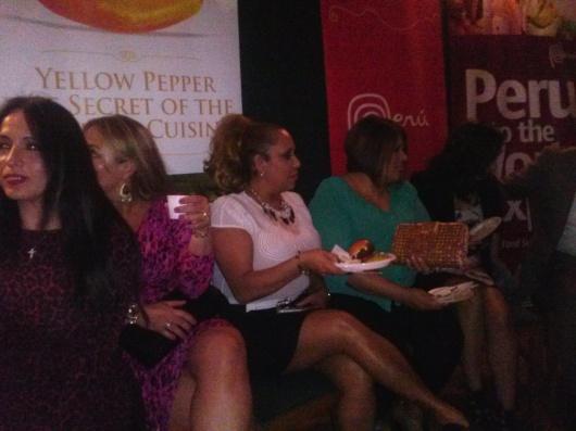 Todos disfrutaron de la fiesta gastronómica del Ají Amarillo.