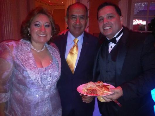 Todos disfrutaron durante la Fiesta de Gala del Desfile Peruano de Nueva York.