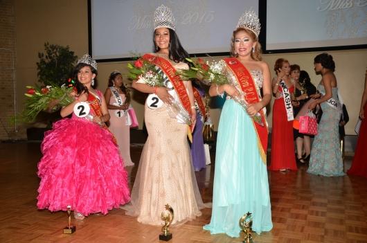 Las ganadoras del certamen de belleza y talento que llevó a cabo la Peruvian Civic Association of New Jersey (PCANJ) como parte de las celebraciones por las Fiestas Patrias Peruanas. FOTOS: SAID CHAVARRY RUSSO