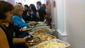 Cinco reconocidos chefs peruanos estuvieron a cargo de ofrecer la exquisita muestra de la gastronomía peruana, por primera vez, en la Casa Blanca. Foto: NuestraGenteDigital.com