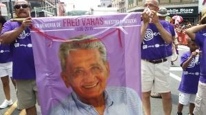 El Desfile Peruano 2015 estuvo dedicado al fallecido empresario Fred Varas, fundador de