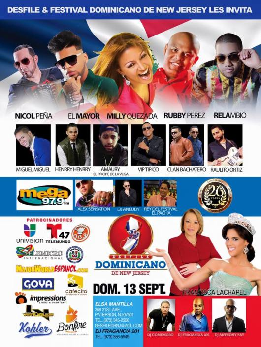 090915 FLYER DEL DESFILE DOMINICANO DE NJ 2015