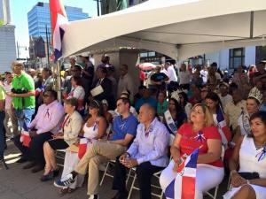 Numerosas personalidades se dieron cita en la actividad dominicana previa al Desfile y Festival de este domingo 13 de septiembre en Paterson, Nueva Jersey.