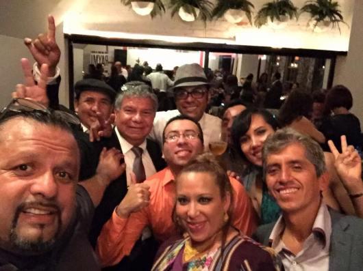 Un selfie en el After Party en el Raymi Restaurant luego de la ceremonia de premiacion.