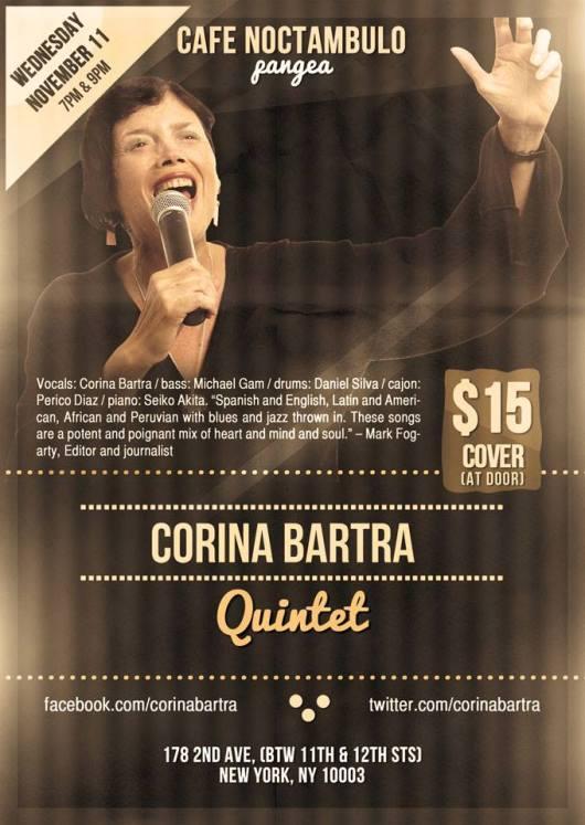CORINA BARTRA FLYER