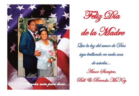 050416 SPANISH MOTHER'S DAY CARD BILL McKOY
