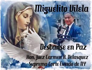 HOMENAJE DE LA JUEZA CARMEN VELASQUEZ