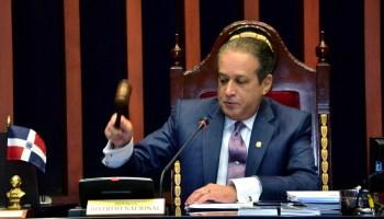 062017 Reinaldo Pared Pérez, actual presidente del senado dominicano y secretario general del Partido de la Liberación Dominicana (PLD)