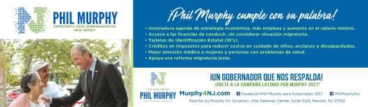 8.5 x 2.5 - Phil Murphy Ad