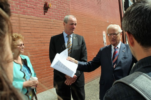 041817 Photo Phil Murphy, Congressman Pascrell in Paterson to Highlight ACA