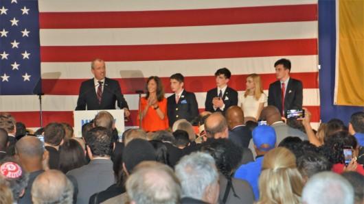 060717 Photo 2 Phil Murphy wins election last night, June 6