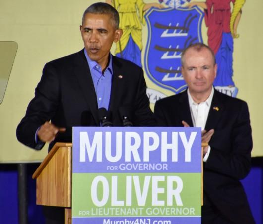 Photo Obama Murphy rally