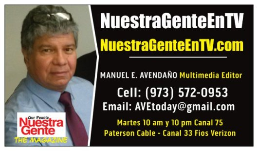 NEW BUSINESS CARD NUESTRA GENTE EN TV