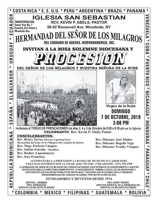 HERMANDAD DEL S.D.L.M.DEL CONDADO DE QUEENS