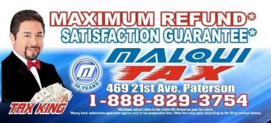 2018 malqui tax maximum refund