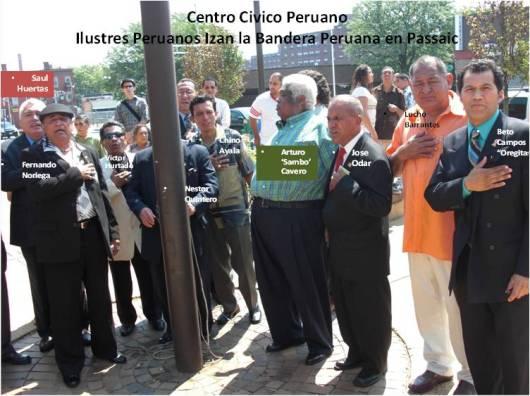 IZAMIENTO DE BANDERA EN PASSAIC