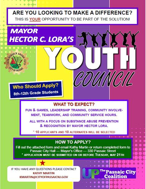 FLYER PASSAIC YOUTH GROUP