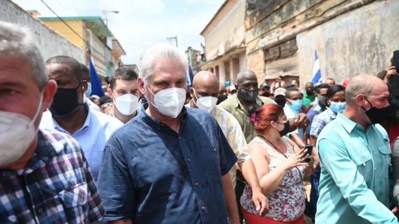 PROTESTAS EN CUBA AFP 04